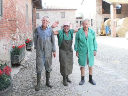 Mario, Carlo und Annibale Bigongiari
