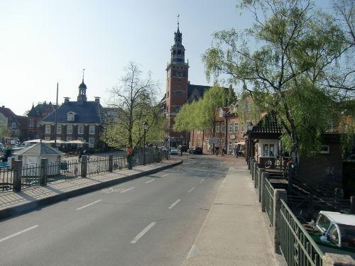 Sicht auf das alte Rathaus
