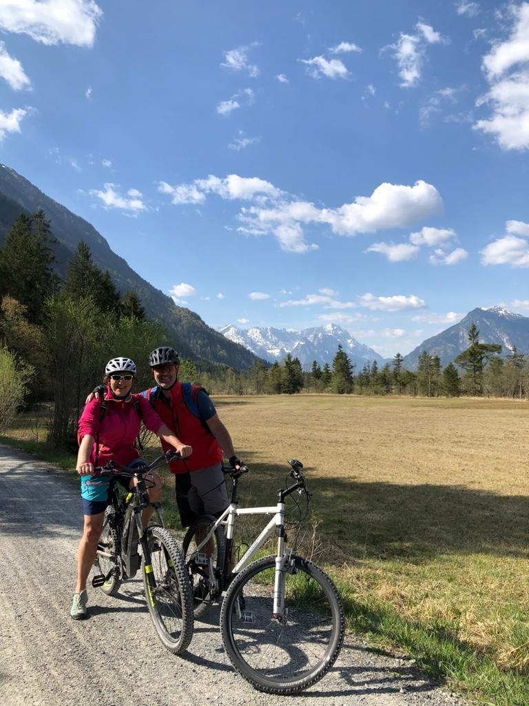 Ihre Vermieter auf Tour im Karwendel