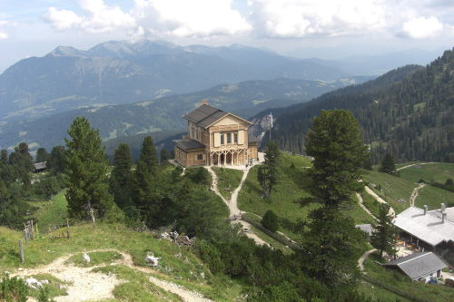 Auf Tour bei der Bockhütte zur Zugspitze