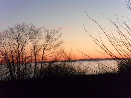 Sonnenaufgang über dem Wandlitzsee