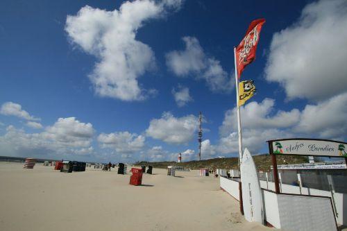 Südstrand mit Strandbude