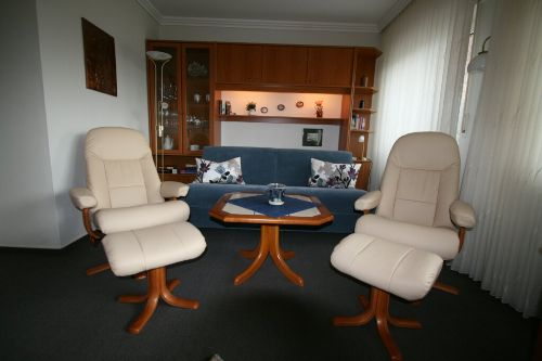 Sitzecke mit Sofa / Schlafsofa