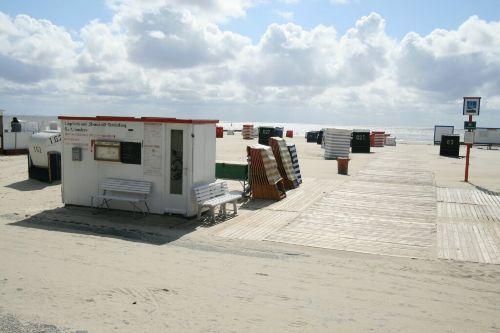 Strandkorbvermietung Südstrand