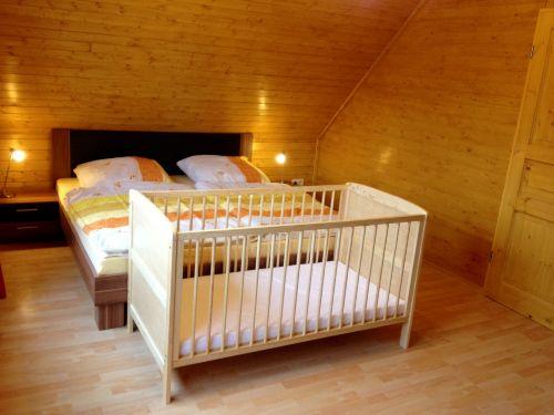 Schlafzimmer 3 in der 1. Etage
