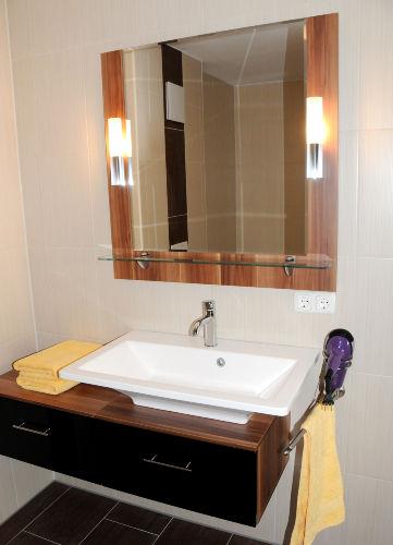 Waschplatz Badezimmer