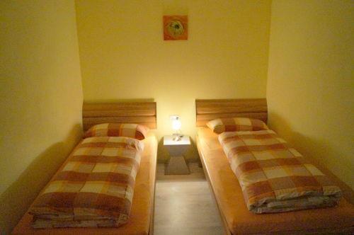 Appartment mit 2 Einzelbetten