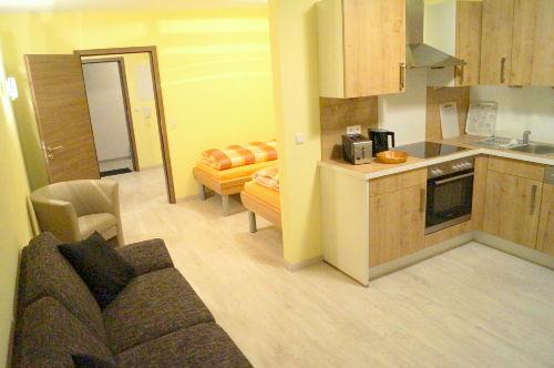 Appartment ( Wohnraum mit Küche )