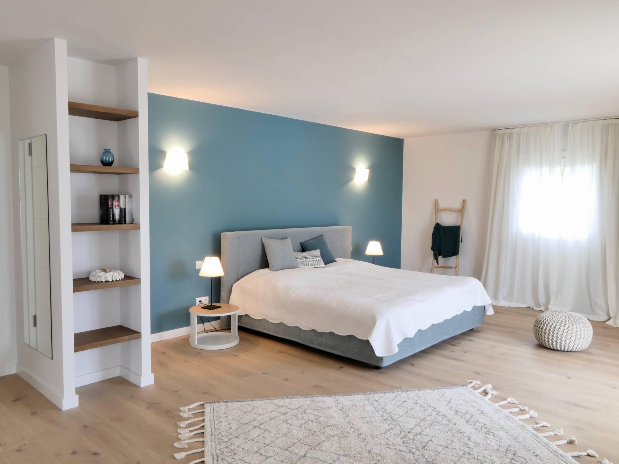 Schlafzimmer nit Bad en Suite 50 qm.
