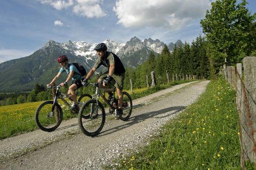 tolle Radtouren im Pillerseetal