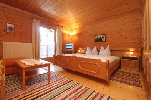 Ferienwohnung - gemütliches Schlafzimmer