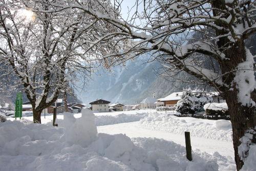 Winterlandschaft Wei�bach
