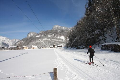 Langlaufen in Wei�bach
