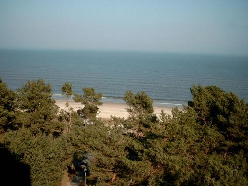 Strand ( Blick vom Hochuferweg )