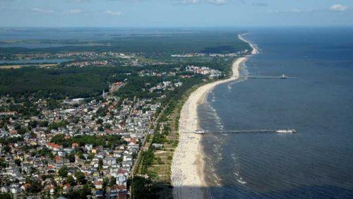 Weiße Küste in Ahlbek