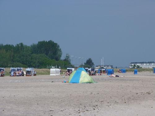Ostseestrand Weidefeld