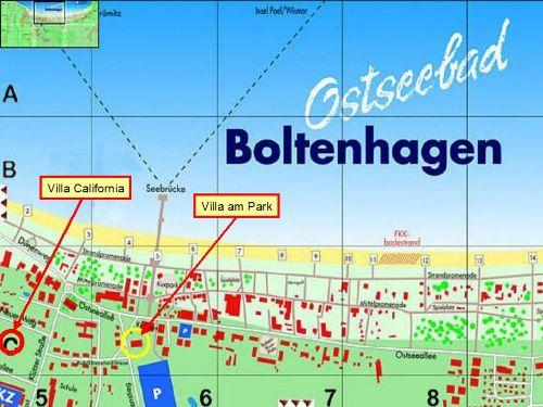 Lage in Boltenhagen