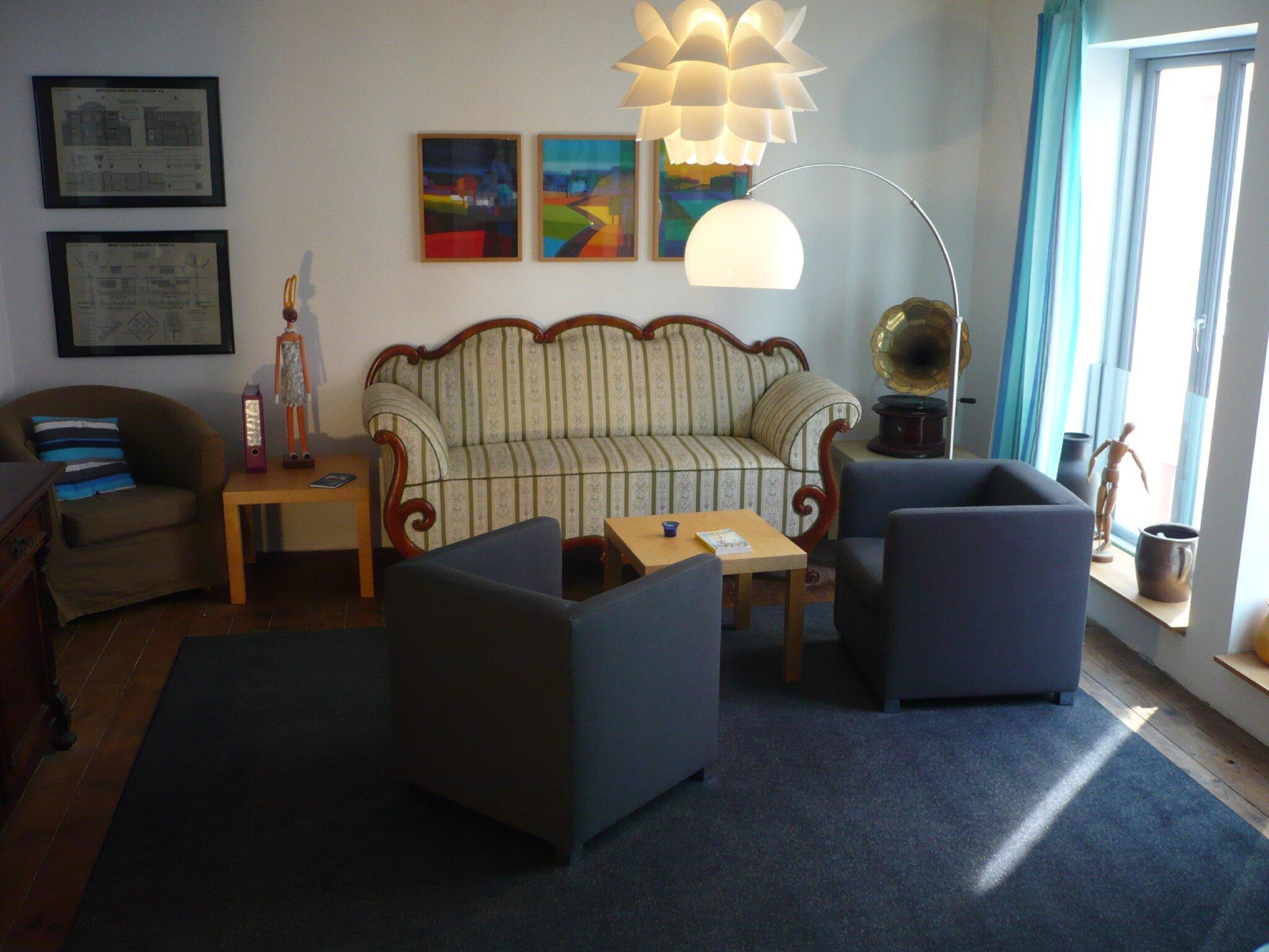 Wohn- & Schlafzimmer , Wgh.1 , I.Og
