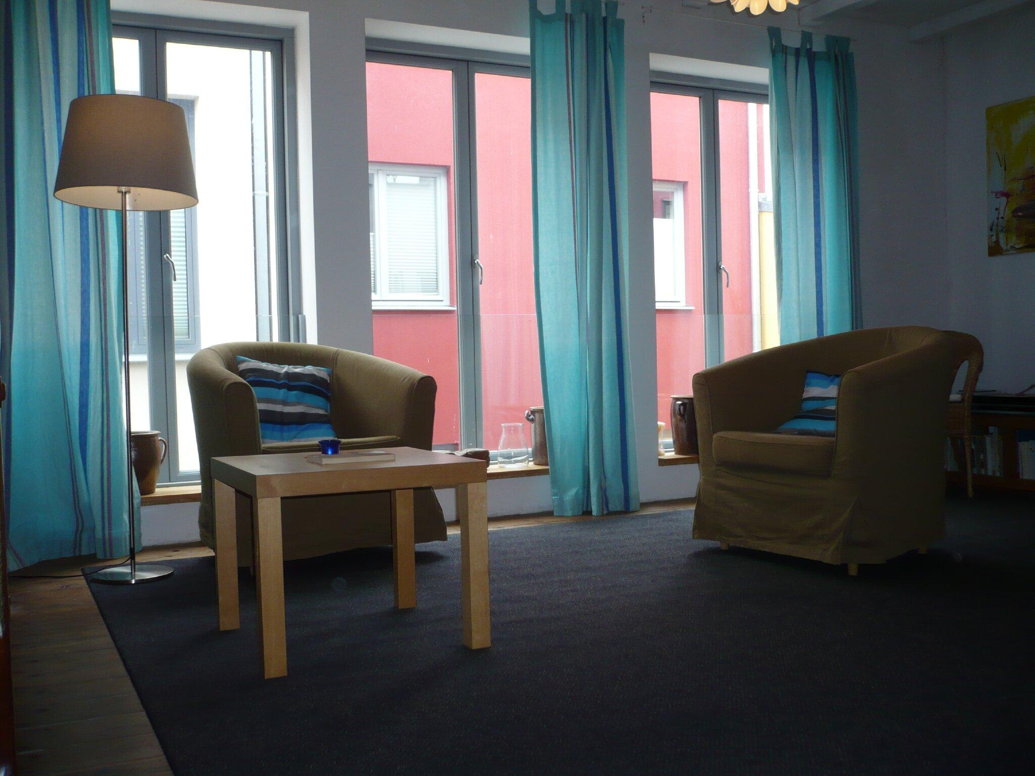 Wohn-& Schlafzimmer , Whg 1 , I.Og