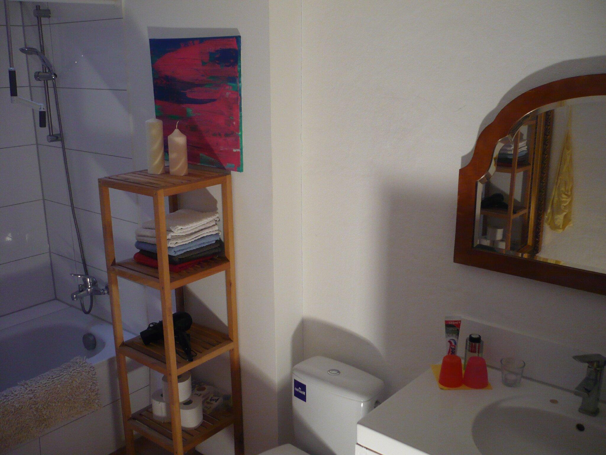 Bad mit Dusche ( Whg 2 )