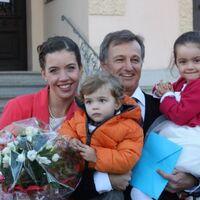 Vermieter: Familie Maier mit Kindern