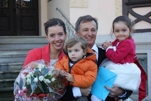 Familie Maier mit Kindern