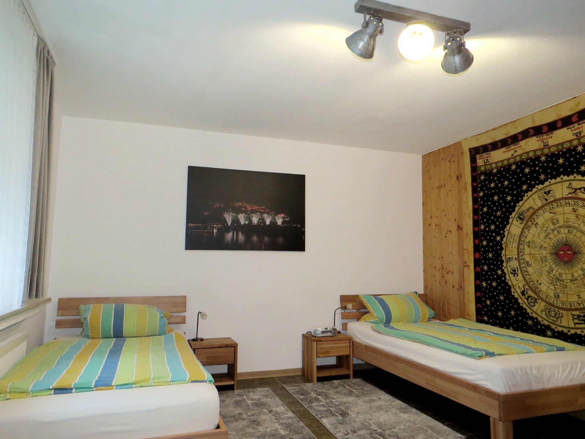 Schlafzimmer 3 Sterne Ferienwohnung 1