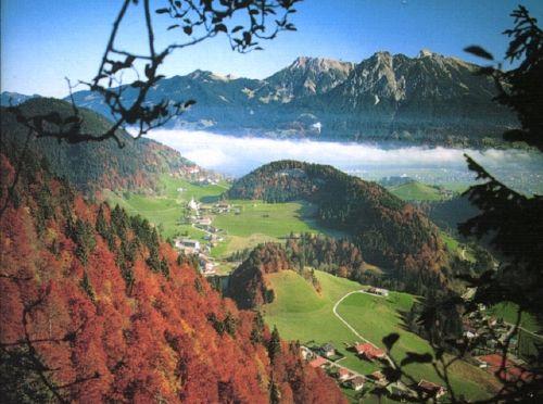 Umgebung von Ferienwohnungen Haus Sport Alpin