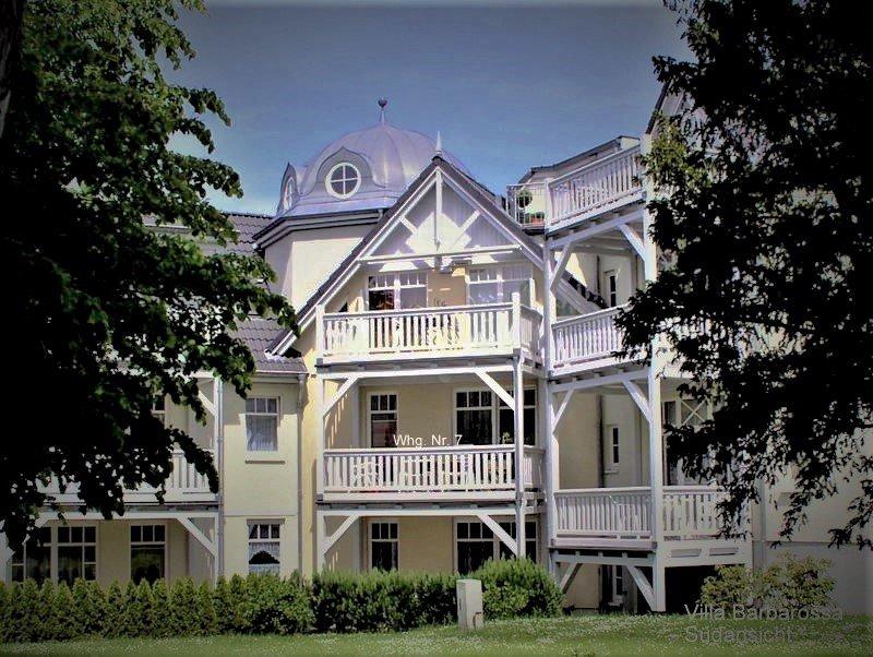 Villa Barbarossa Südansicht