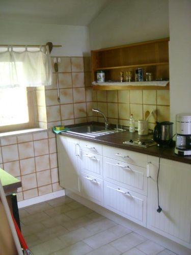 große Wohnung Küche