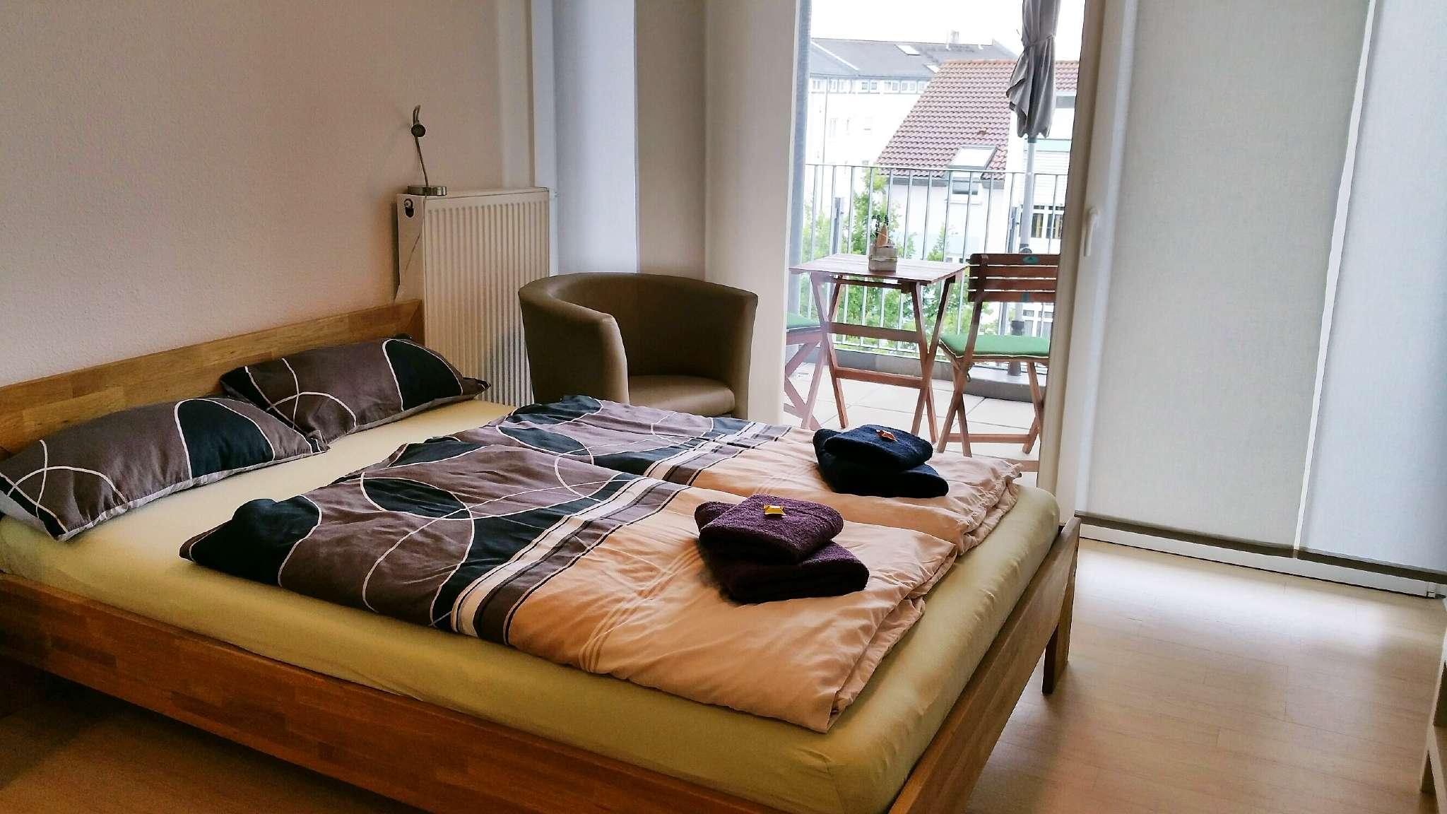 Schlafbereich mit 1,40 m Bett