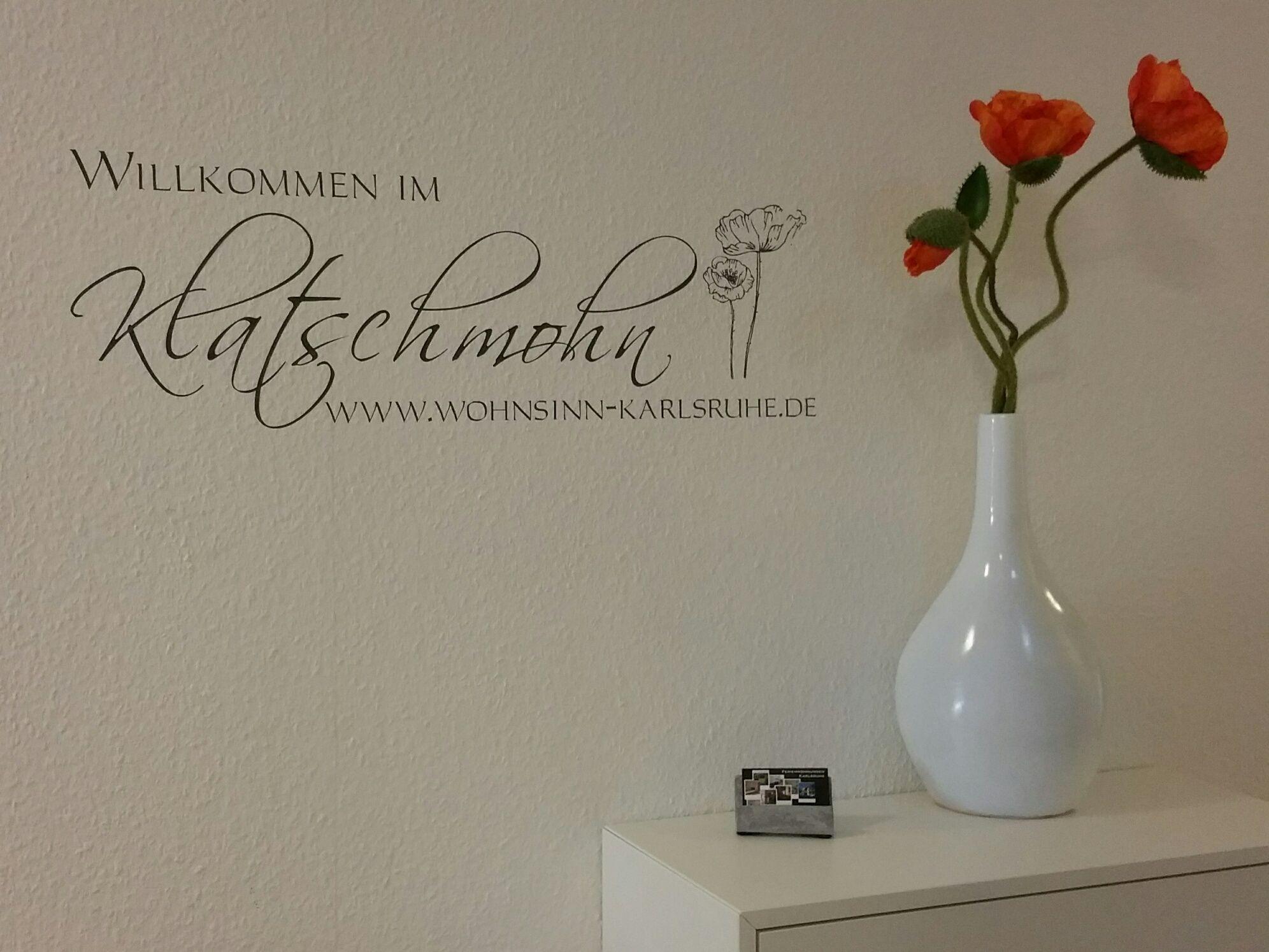Wohnsinn Karlsruhe Fewo Klatschmohn