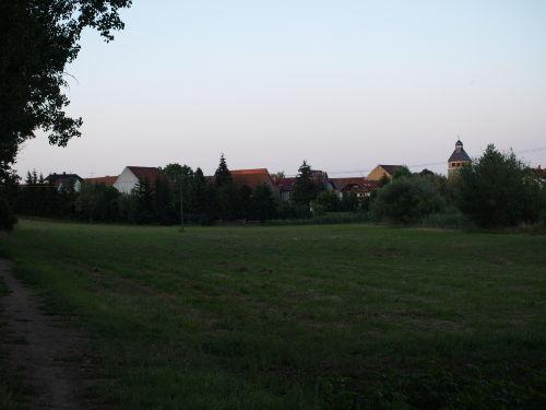 Blick auf Wolferstedt