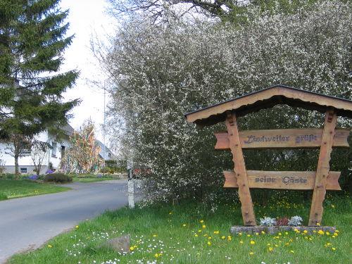 Ortseingang Lindweiler