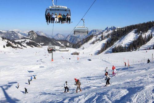 Winter im Salzburger Saalachtal