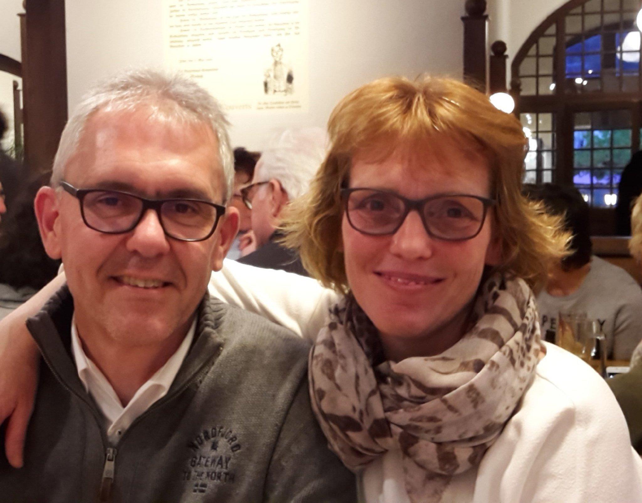 Ihre Gastgeber Ute & Markus Ruf