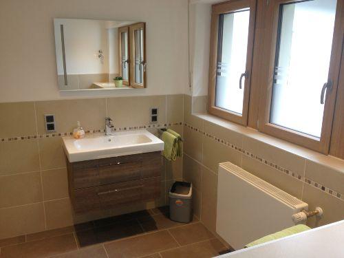 Waschtisch im neuen Bad April 2013