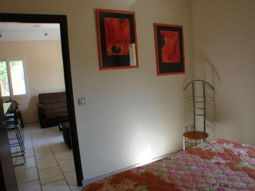Blick Schlafzimmer zum Wohnzimmer