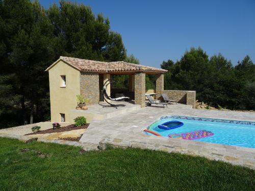 Das ist unser neu errichtetes Poolhaus
