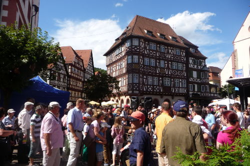 Marktplatz in Mosbach