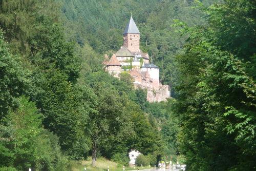 Schloss Zwingenberg 4 km