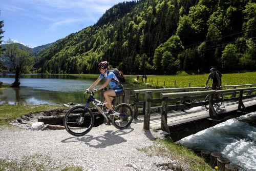 Biken im Sommer im PillerseeTal