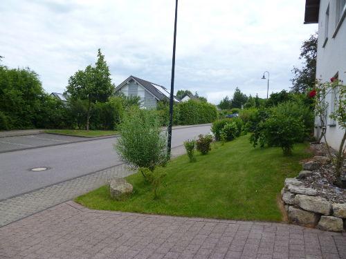 Blick über die Strasse