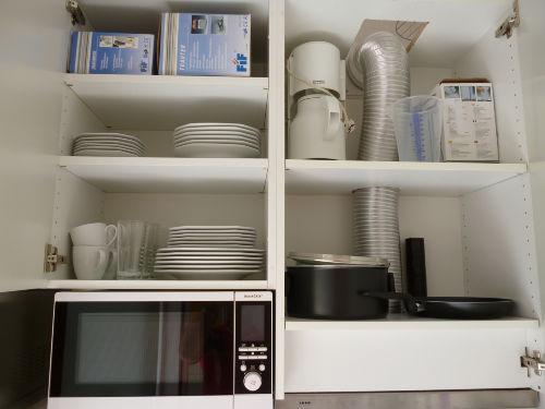 Küchenausstattung, Dunstabz Mikrowelle