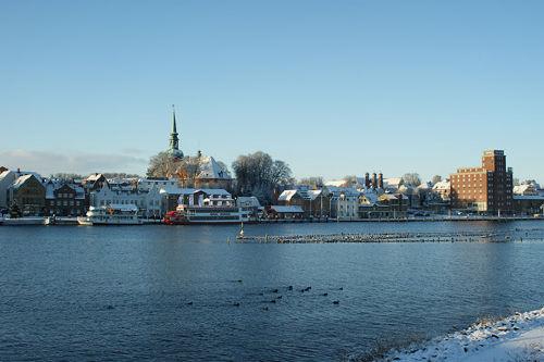 Der Hafen - zu jeder Jahreszeit sch�n