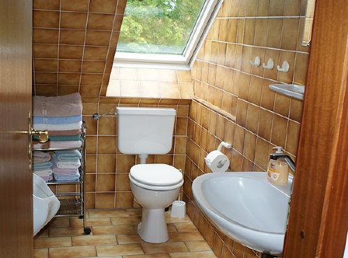 Separate zweite Toilette