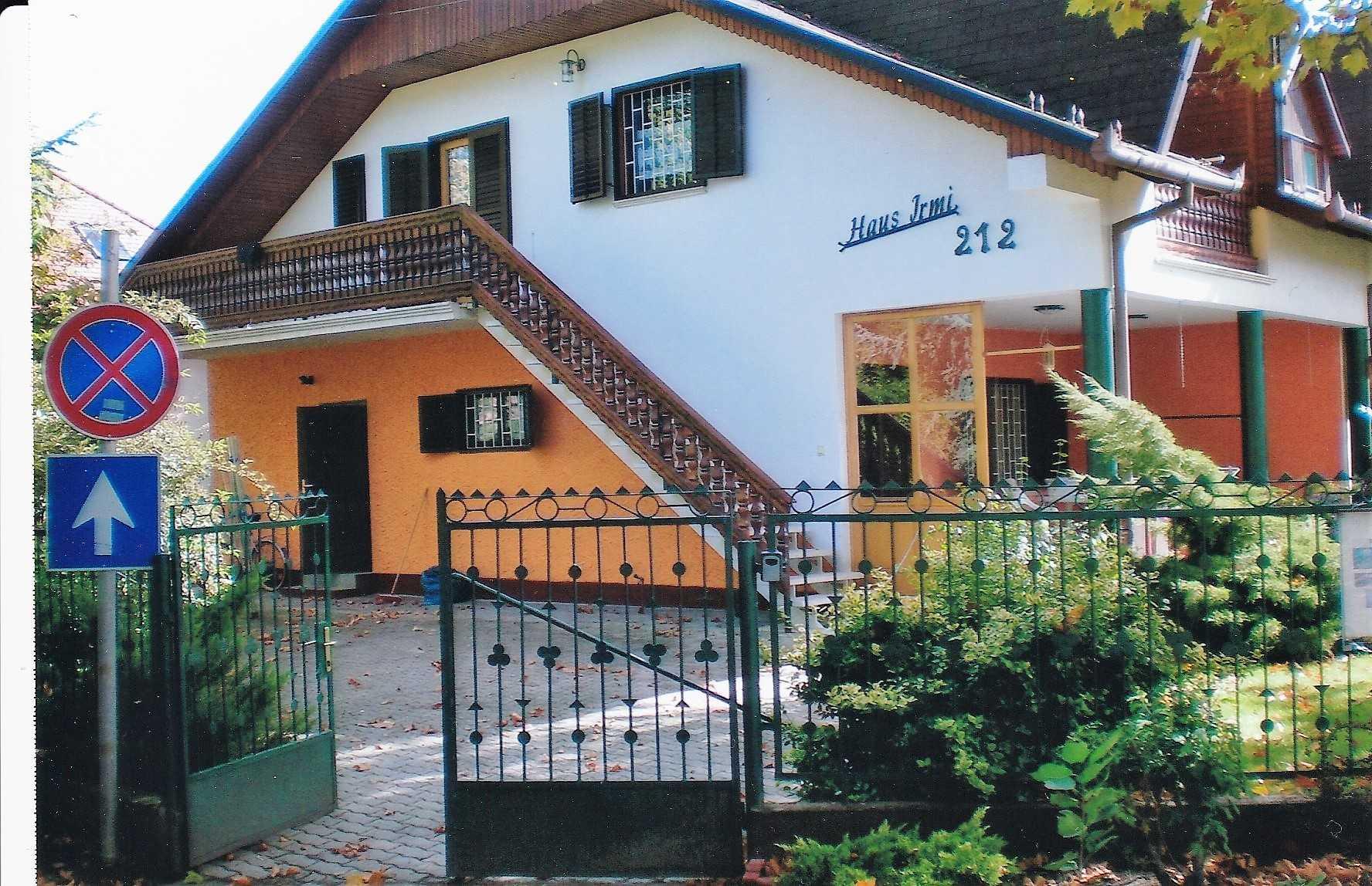 Ansicht des Hauses Jrmi