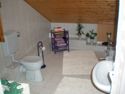 dusche und wc waschbecken