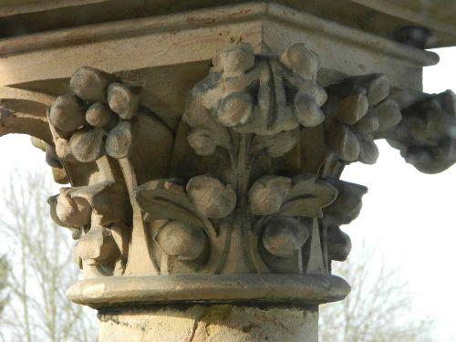 Detail Stütze