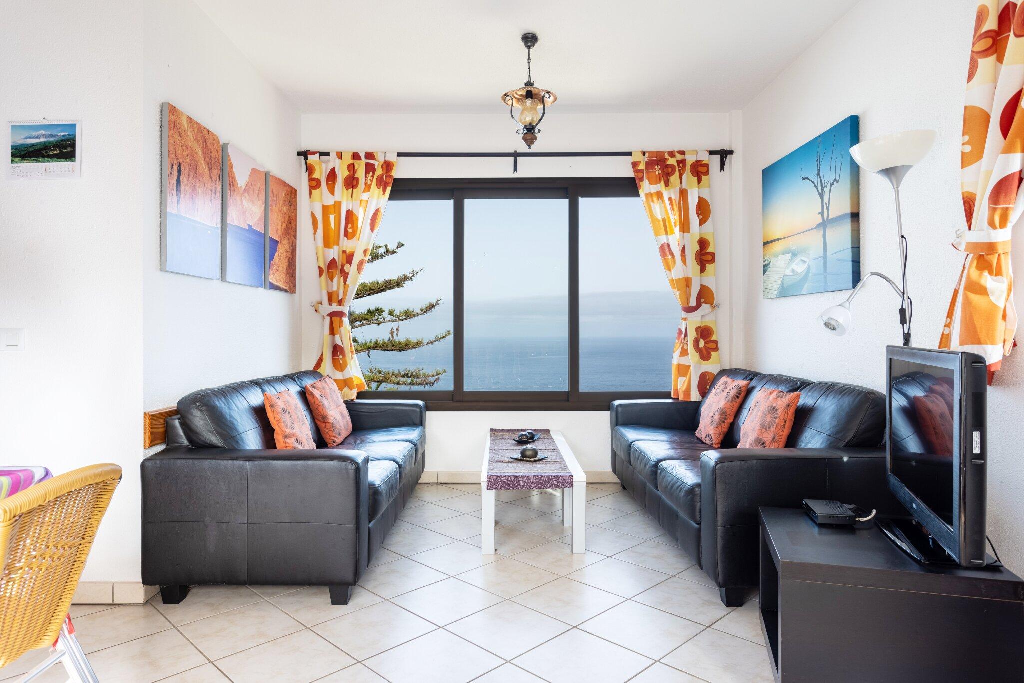 Detailbild von Finca Teneriffa Romantica - Ferienwohnung Atico Marazul